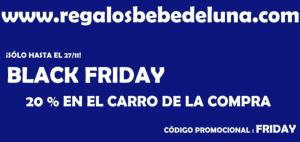 BLACK FRIDAY REGALOS BEBÉ
